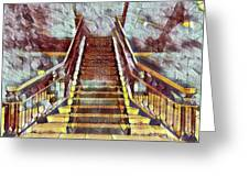 The Stair Greeting Card