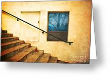 The Stairway Of Reflections Greeting Card