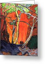 The Standley Chasm Greeting Card