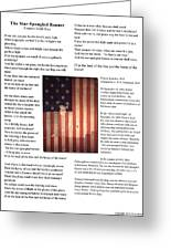 The Star-spangled Banner Greeting Card