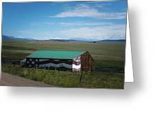 The Star Spangled Barn Greeting Card