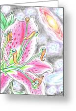 The Stargazers Greeting Card