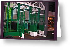 The Starting Gate Display In The Kentucky Derby Museum Greeting Card
