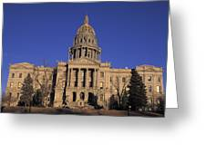 The State Capitol Building Greeting Card