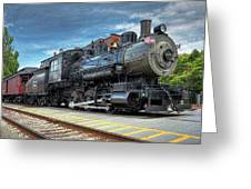The Steam Engine #401 Greeting Card