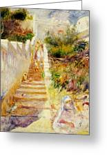 The Steps In Algiers Greeting Card