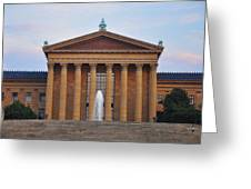The Steps Of The Philadelphia Museum Of Art Greeting Card