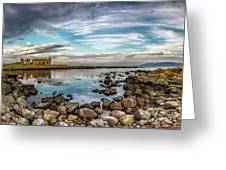 The Stilled Harbour... Greeting Card