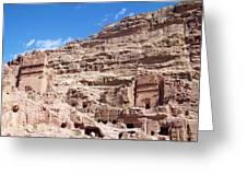 The Stone City Greeting Card by Munir Alawi