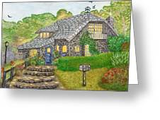 The Stone Cottage  Greeting Card