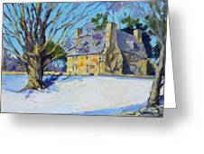 The Stone House Greeting Card