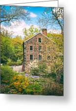 The Stone Mill In Spring Greeting Card