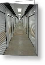 The Storage  Row Greeting Card