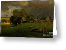 The Storm, George Inness Greeting Card