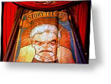 The Storyteller Hhn 25 Greeting Card