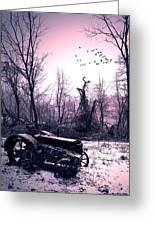 The Straggler...thurston Hollow Pa. Greeting Card