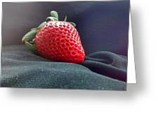 The Strawberry Portrait Greeting Card