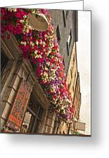 The Street Lamps Greeting Card