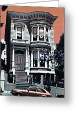 The Streets Of San Francisco Greeting Card