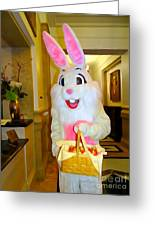 The St.regis Easter Bunny Greeting Card