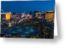 The Strip Las Vegas Greeting Card