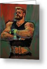The Strongman Greeting Card
