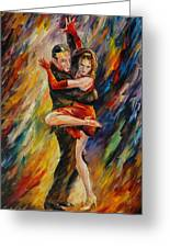 The Sublime Tango  Greeting Card