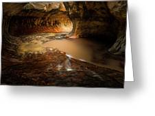 The Subway - Zion National Park Greeting Card