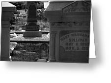 The Sullivan Burial Plot Greeting Card