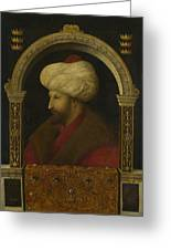 The Sultan Mehmet II Greeting Card