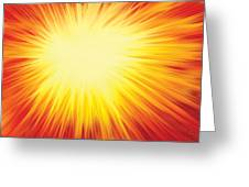 The Sun Greeting Card