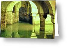 The Sunken Crypt Of San Zaccaria Greeting Card