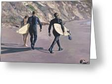 The Surfers Greeting Card