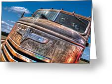 The Survivor - '42 Chevy Greeting Card