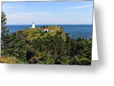 The Swallowtail Lightstation Greeting Card
