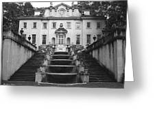 The Swan House Greeting Card