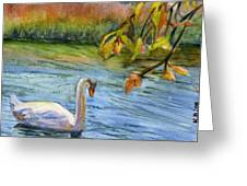 The Swan Greeting Card