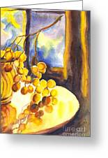 The Sweeter The Grapes Greeting Card