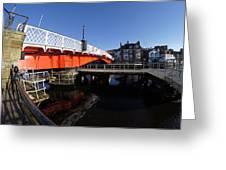 The Swing Bridge Greeting Card
