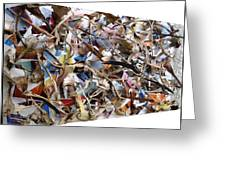 The Synergies Of Recycling Wastes And Intellects #511 Greeting Card