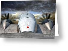 The Takeoff Greeting Card