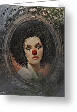 The Tearful Clown Greeting Card