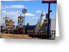 The Tee-pee Curios On Route 66 Nm Greeting Card