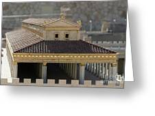 The Temple Of Solomon 1 Greeting Card