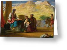 The Temple Of The Jews Greeting Card