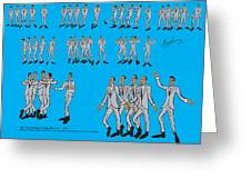 The Temptations-my Girl Greeting Card