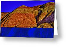 The Tepees Up Close Greeting Card