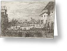 The Terrace [lower Right] Greeting Card
