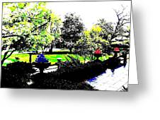 The Terrace Greeting Card