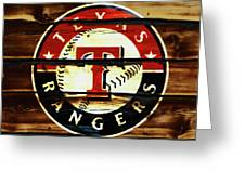 The Texas Rangers 2w Greeting Card